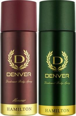 DENVER Denver Hamilton And Honour Deo Combo (Pack Of 2) Deodorant Spray  -  For Men (150 Ml)