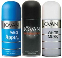 Jovan Sex Appeal White Musk Satisfaction For Men Body Spray  -  For Men (450 Ml)