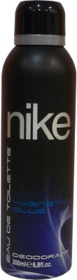 Buy Nike Magnetic Blue Deodorant Spray  -  200 ml: Deodorant