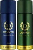 DENVER Denver Hamilton And Pride Deo Combo (Pack Of 2) Deodorant Spray  -  For Men (150 Ml)