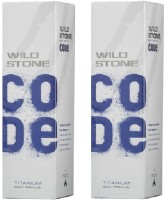 Wild Stone Titanium Body Spray  -  For Boys, Men (240 Ml)