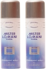 Lomani Sprays Lomani Mister Lomani Deodorant Spray For Men