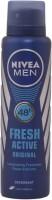 Nivea Nivea Fresh Active - Rush Spray - For Men Body Spray  -  For Men (150 Ml)