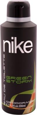 Nike N150 Green Storm Deodorant Spray  -  200 Ml - For Men