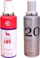 ESTIARA 1 STAG LIFE::1 20 MEN Deodorant Spray  -  For Men (400 Ml)