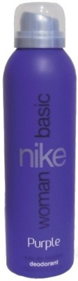 Buy Nike Basic Purple Deodorant Spray  -  200 ml: Deodorant