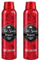 Old Spice Magnate Deodorant Spray (Pack Of 2) Body Mist - 300 Ml (For Men)