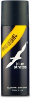 Blue Stratos Legendary Deodorant Body Spray  -  For Men (200 Ml)