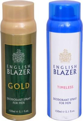 English Blazer 1 GOLD::1 TIMELESS Deodorant Spray  -  For Men