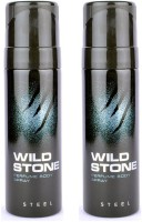 Wild Stone Steel Body Spray  -  For Boys, Men (240 Ml)