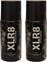 XLR8 2 Pro Deodorant Spray  -  For Men, Women (300 Ml)