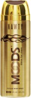 MOODS Nawty Deodorants Body Spray  -  For Men, Boys (150 Ml)