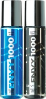 ENVY 1000 Alpine Thrill & Miami Rush Crystal Deo Combo (Pack Of 2) Body Spray  -  For Men (130 Ml)