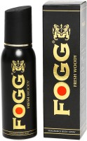 Fogg Black Collection Fresh Woody High Performance Body Spray  -  For Men (120 Ml)