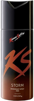 Buy KamaSutra Storm Deodorant Spray  -  150 ml: Deodorant
