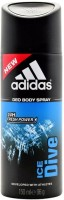 Adidas Ice Dive Deodorant Spray  -  150 ml: Deodorant