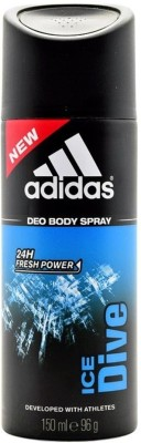 Buy Adidas Ice Dive Deodorant Spray  -  150 ml: Deodorant
