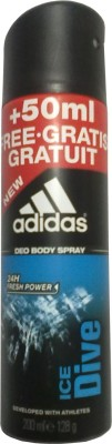 Buy Adidas Ice Dive Deodorant Spray  -  200 ml: Deodorant