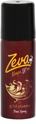 Zeva Keepz U On Sprays Zeva Keepz U On Deo Gold Deodorant Spray