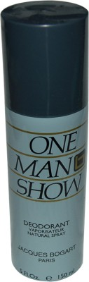 Buy Jacques Bogart One Man Show Deodorant Spray  -  150 ml: Deodorant
