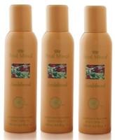 Royal Mirage 3 Royal Mirage Sandalwood Deo Deodorant Spray  -  For Boys (150 Ml)