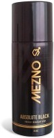 Mezno Absolute Black Deodorant Spray  -  For Men (150 Ml)