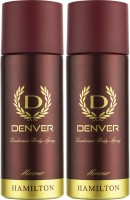 Denver Honour Deo Combo (Pack Of 2) Body Spray  -  For Men (150 Ml)