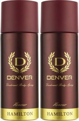 Denver Honour Deo Combo (Pack Of 2) Body Spray  -  For Men (150 Ml)