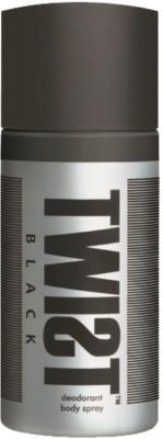 Twist Sprays Twist Black Deodorant Spray For Boys, Men