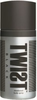 Twist Black Deodorant Spray  -  For Boys, Men (150 Ml)