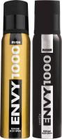 ENVY 1000 Rush & Noir Deo Combo (Pack Of 2) Body Spray  -  For Men (130 Ml)