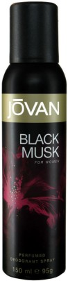 Buy Jovan Black Musk Deodorant Spray  -  150 ml: Deodorant