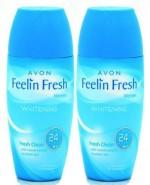 Avon Roll ons Avon Feelin Fresh Whitening ROD Combo Pack Deodorant Roll on For Women, Girls