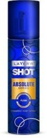 Layer'r Shot Absolute Series Rush Body Spray  -  For Men (135 Ml)