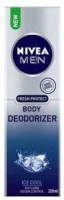 Nivea Fresh Protect Deodorizer Gas Free Ice Cool Body Spray  -  For Men (120 Ml)