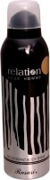 RELATION Pour Homme RASASI SILVER Deodorant Spray  -  For Boys (200 Ml)