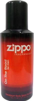 Zippo Sprays Zippo On The Road Deodorant Spray For Men
