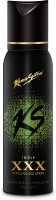 Kamasutra Black XXX Triple Perfumed Body Spray  -  For Men (120 Ml)