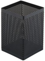 Comix Office 1 Compartments Metal Mesh Pen Holder (Black)