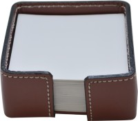 Knott 1 Compartments Faux Leather Slip Holder (Brown)