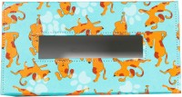 TheCrazyMe My Pet Best Friend 1 Compartments Eco-Friendly Leatherette Tissue Box Holder (Multicolor)