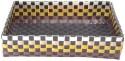 Shraddha Collections Jute 1 Compartments Plastic Tray - Brown - DKOE2CA5ZSQQCHXU