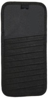 Autosun Black 12 Compartments Cloth CD Holder (Black)