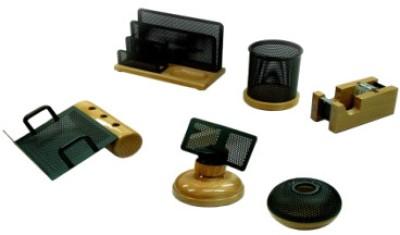 Buy Golden Horse Wood Desk Sets: Desk Organizer