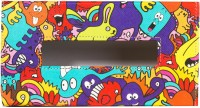 TheCrazyMe Monster Colorful 1 Compartments Eco-Friendly Leatherette Tissue Box Holder (Multicolor)