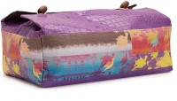 Artychoke TC-Bi-Pi-Pu 1 Compartments Leatherette Tissue Holder Box (Purple)