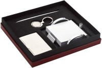 World's 1 Set 1 Compartments Alloy, Stanless Steel Gift Set (Gold, Silver)