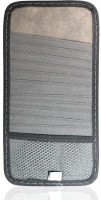 AutoSun 12 Compartments Cloth CD Organizer CD Organizer (Grey)