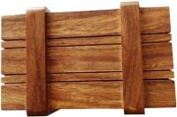 Mavi 1 Compartments Wooden Small Accessories Holder (Brown)