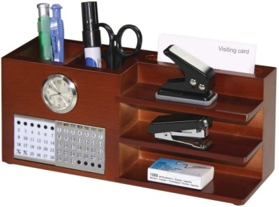 Buy Golden Horse Wood Multipurpose Tray: Desk Organizer